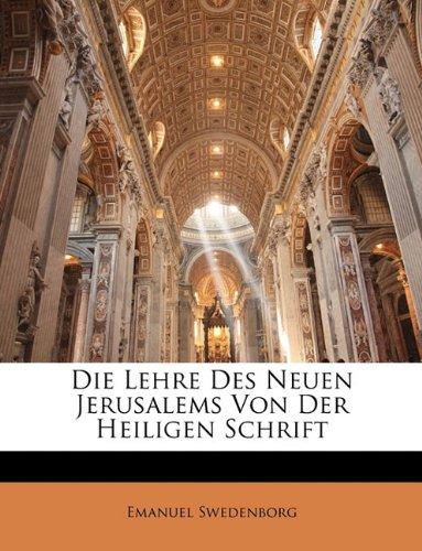 Lehre Des Neuen Jerusalems Von Der Heiligen Schrift