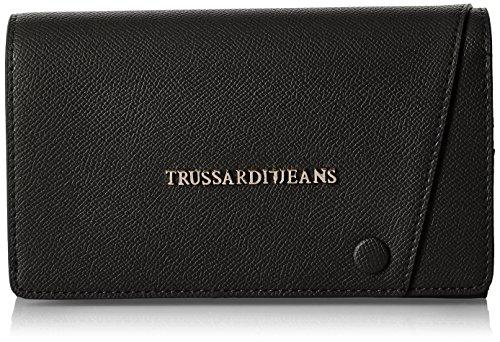 Trussardi Jeans Montblanc Portamonete, 20 cm, Nero