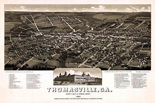 antique-map-of-thomasville-georgia-1885-thomas-county-kunstdruck-4572-x-6096-cm