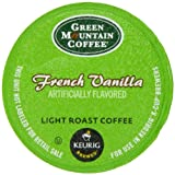 Green Mountain Coffee, French Vanilla K-Cup Portion Pack for Keurig Brewers, 50 count