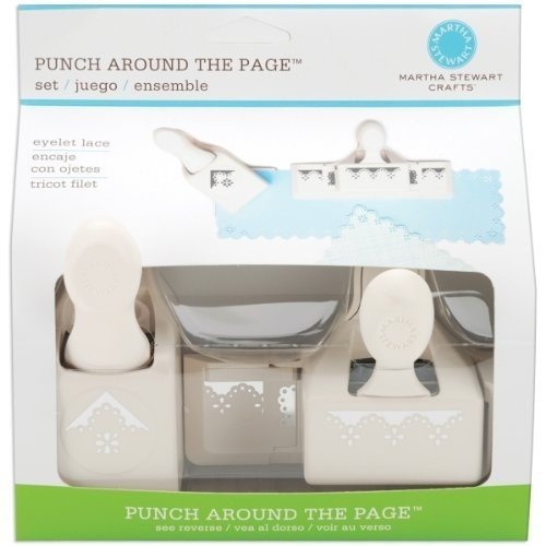 Martha Stewart Punch Around The Page Combo-Eyelet Lace