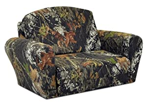 Camouflage Sleepover Kids Sofa by Kidz World