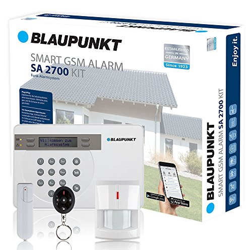 blaupunkt sa 2700 smart gsm funk alarmanlage. Black Bedroom Furniture Sets. Home Design Ideas