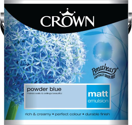 Crown Matt 2.5L Emulsion - Powder Blue