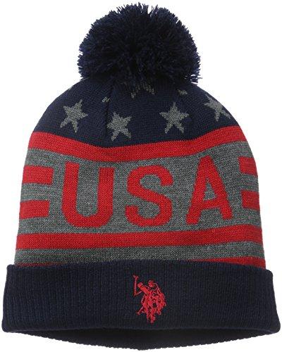 U.S.POLO ASSN. Usa Hat, Cappello Uomo, Grigio-Blu, Taglia Unica
