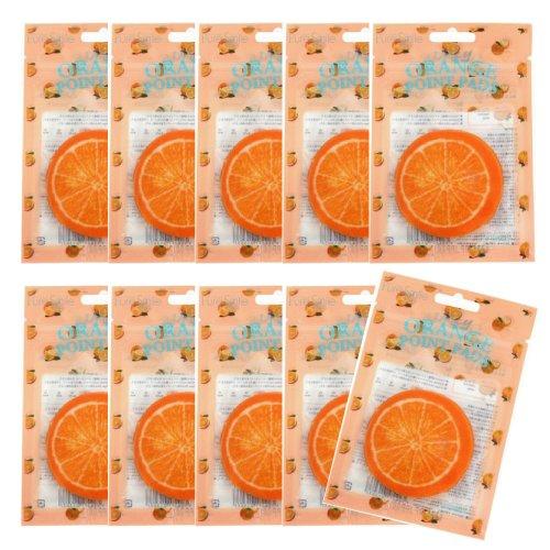 ピュアスマイル ジューシーポイントパッド オレンジ10パックセット