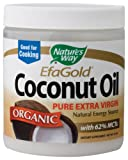 Nature&#039;s Way Organic Extra Virgin Coconut Oil, 16...