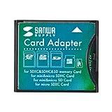 サンワサプライ SDXC用CF変換アダプタ ADR-SDCF2Z