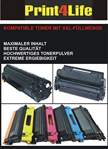 Kompatibler Toner zu Brother TN320BK TN325BK TN328BK schwarz 4.000 Seiten Jumbo-Tonerkasette für folgende Drucker : DCP-9055CDN / DCP-9270CDN / HL-4140CN / HL-4150CDN / HL-4570CDW / HL-4570CDWT / MFC-9460CDN / MFC-9465CDN / MFC-9970CDW