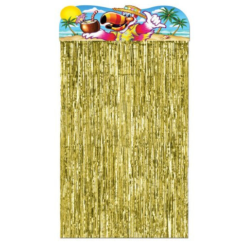Ddi 526688 Luau Character Curtain Case Of 48 front-1029585