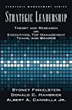 img - for Strategic Leadership: Theory and Research on Executives, Top Management Teams, and Boards (Strategic Management Series) book / textbook / text book