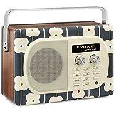 Pure Evoke Tragbares Kompaktradio (DAB/DAB+/UKW mit RDS, 7 Watt, 30 Speicherplätze)