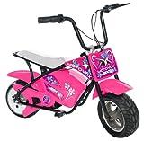 MotoVox Electric Micro Mini Bike, Pink image