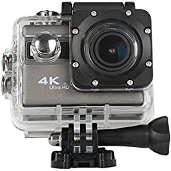 ICONNTECHS IT Sport Action Camera 4K Ultra HD Impermeabile, Lente Grandangolo 170°, Videocamera Full HD 1080P Sony Sensor WiFi HDMI, Accessori gratis per Caschi, Immersioni Sub, Bicicletta e Sport Estremi