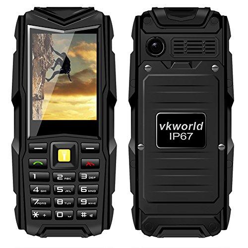 PER VKworld Stone V3 2,45'' Cellulare Impermeabile e Antipolvere C'è Macchina Fotografica(Nero)