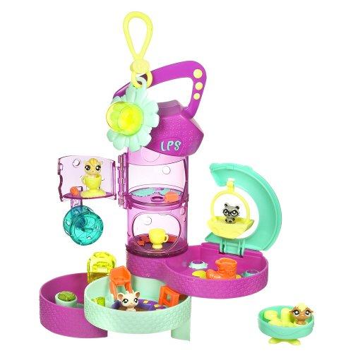 Buy Low Price Hasbro Littlest Pet Shop Teeniest Tiniest Pet Shop Playset Figure (B001H07CZI)