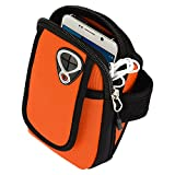 SumacLife Running Sports Gym Zipper Neoprene Armband Case Pouch For Samsung Galaxy S6 Edge / S6 Edge Plus / Note...