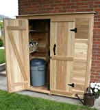 Garden Chalet Wood Lean-To Shed Size: 6.2' x 3'