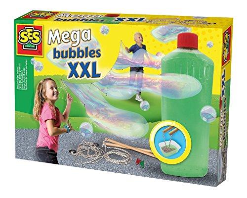 SES 02252 - Mega Bolle XXL, Soffiatore di Bolle, Multicolore