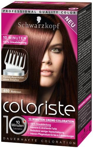 schwarzkopf coloriste hochglanz haarfarbe rotbraun beauty. Black Bedroom Furniture Sets. Home Design Ideas