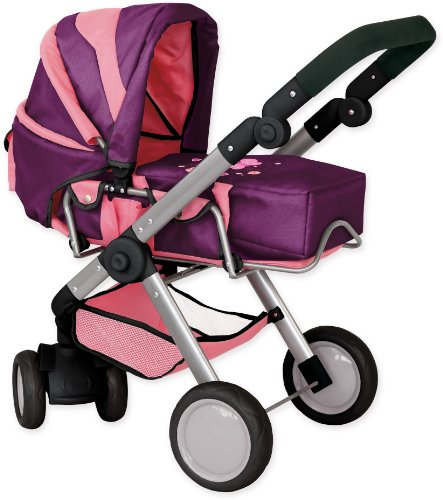 Bayer Design Doll Pram City Max (Plum)