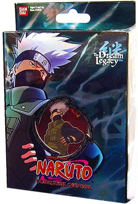 Naruto Collectible Trading Card Game The Dream Legacy Theme Deck Starter - Kakashi (Set B-1) - 1