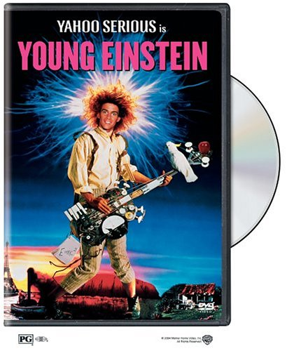 Cover art for  Young Einstein (1988)