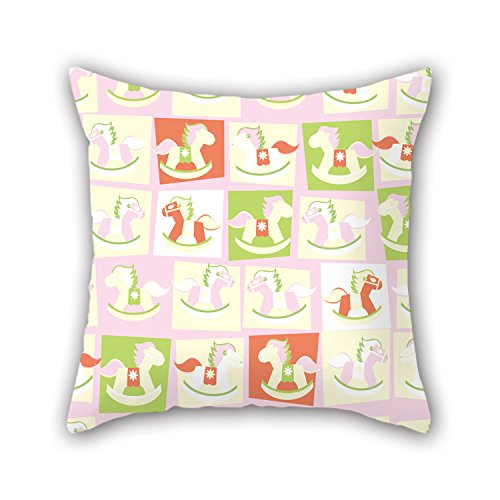 NICEPLW Pillowcover 18 X 18 Inches / 45 By 45 Cm(2 Sides) Nice Choice For Deck Chair,family,wedding,bf,kids Boys,father Horse (Chicken Pica compare prices)