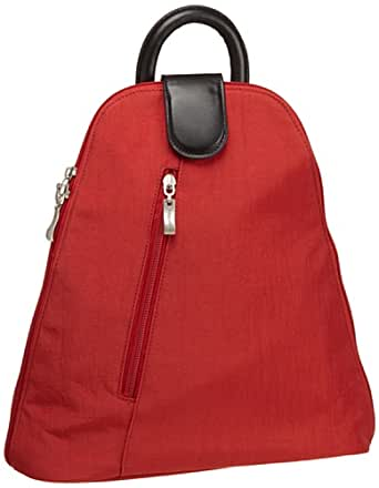 Baggallini Urban Backpack, Tomato