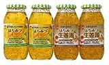 美蜂園 はちみつレモンと生姜湯セット 美蜂園はちみつレモン810g×2本・美蜂園生姜湯810g×2本