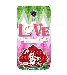EPICCASE ride love Mobile Back Case Cover For Samsung Galaxy S4 (Designer Case)