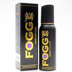 Fogg Fresh Fougere Fragrance Body Spray Black Series For Men, 120ml