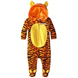 Disney Baby Boys' Tigger Coverall with Ears and 3D Embroidery