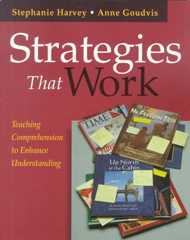 Strategies that Work Cover Image from Amazon