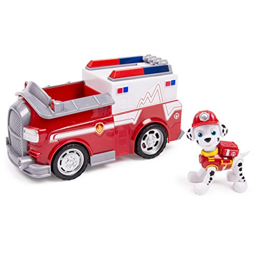 Paw Patrol Marshall's Ambulance and Figure (works with Paw Patroller)