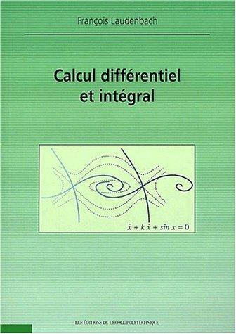 Calcul differentiel et intégral