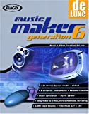 : Magix Music Maker de Luxe Generation 6. 4 CD- ROM für Windows 95/98/2000/ ME/ NT