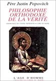 PHILOSOPHIE ORTHODOXE