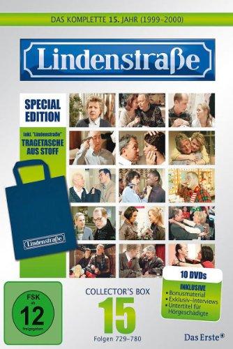 Die Lindenstraße - Das fünfzehnte Jahr (Folgen 729-780) (Special Edition, Collector's Box, 10 DVDs)