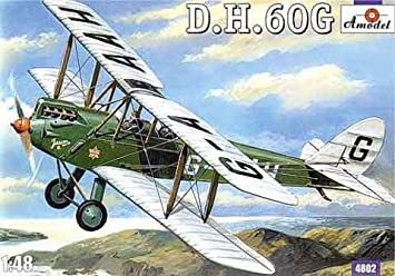Maquette De Havilland DH.60G Gipsy Moth