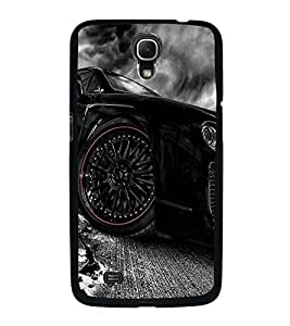Fuson Premium 2D Back Case Cover Stylish car With white Background Degined For Samsung Galaxy Mega 6.3 i9200::Samsung Galaxy Mega 6.3 i91200