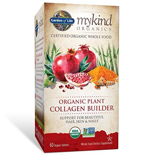 Garden of Life mykind Organics Organic Plant Collagen Builder 60 Tablets (Collagen Organic compare prices)
