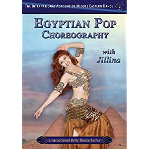 Egyptian Pop Choreography Belly Dance Instructional - DVD