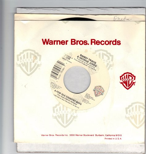 TRAVIS, Randy; & George Jones/A Few Ole Country Boys/45rpm record