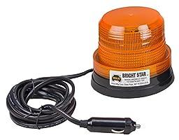 Wolo (3300-A) Bright Star Emergency Warning Strobe Light - Amber Lens