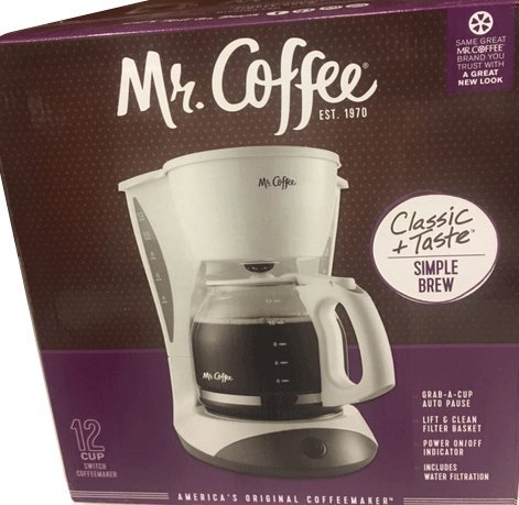 Mr Coffee Classic simple Brew Coffee Maker