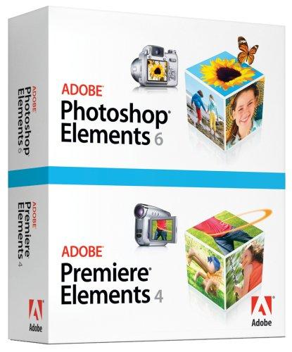 Adobe Photoshop Elements 6 & Adobe Premiere Elements 4 [OLD VERSION]