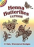 Henna Butterflies Tattoos (Dover Tattoos) Anna Pomaska