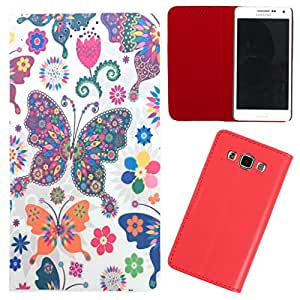 DooDa - For Asus Zenfone 5 PU Leather Designer Fashionable Fancy Flip Case Cover Pouch With Smooth Inner Velvet