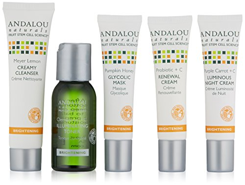 Andalou Naturals Get Started Brightening Kit